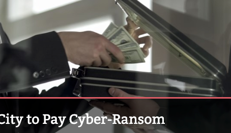 Alabama City to Pay Cyber-Ransom