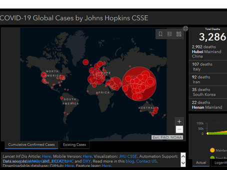 Hackers use fake coronavirus maps to infect visitors with malware