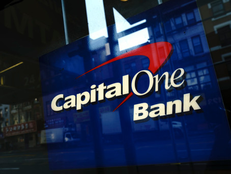Capital One has been fined $80mfollowing its breach last year.