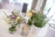 Hochzeitsdekoration, Tischdeko, Dipeschrather Mühle