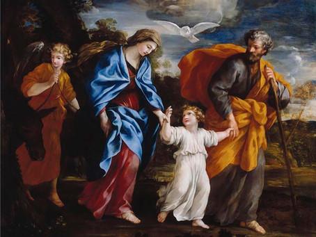 Solemnidad de la Sagrada Familia, 29 de Diciembre