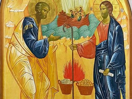 Tercer domingo de Pascua, 5 de Mayo