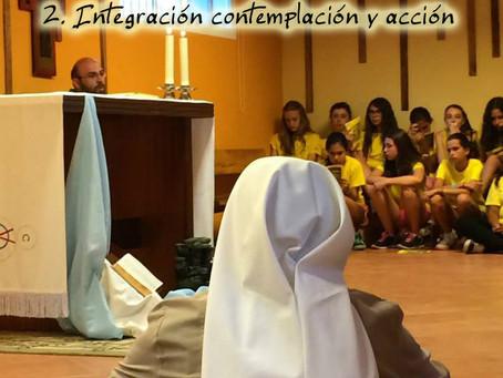 Integración contemplación y acción