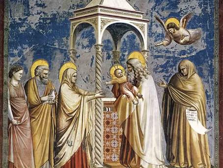 Domingo 2 de febrero, fiesta de la Presentación del Señor en el templo
