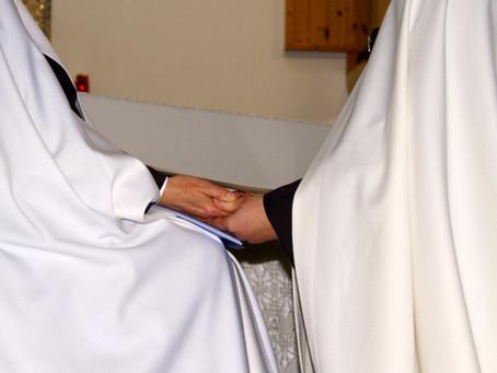 Profesión temporal de la H. Teresa