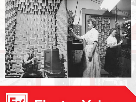 1946 FIRST ANECHOIC CHAMBERS