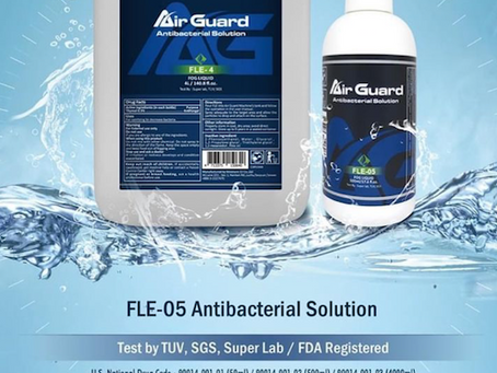 Air Guard Antibacterial Solution