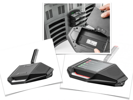 DICENTIS Wireless Conferencing System by Bosch