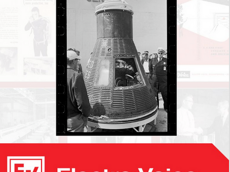 "TBT:  1962 An EV microphone is sent into space aboard the Mercury spacecraft called ""Friendship 7""."