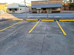 True Stripe Parking Lot Services _ Stop Blocks _ Parking Lot Striping _ Pressure Washing _ Lufkin, T