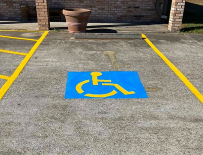 ADA Accessible Compliant Parking