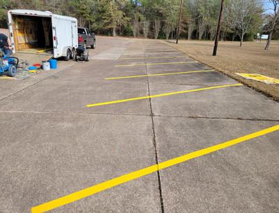 Memorial Baptist Church Parking Lot
