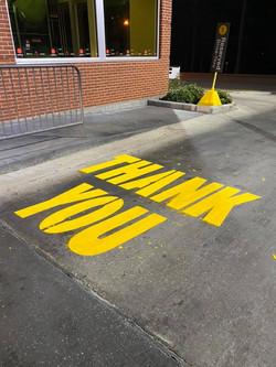 True Stripe Parking Lot Services _ Stenciling _ Parking Lot Striping _ Pressure Washing _ Lufkin, Te