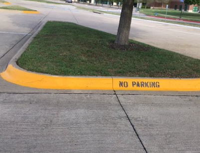 Painted Curb