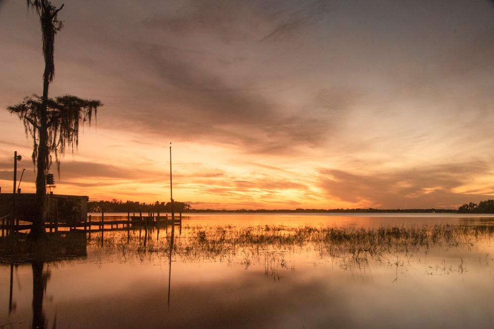 Sunset at Buttler Lake