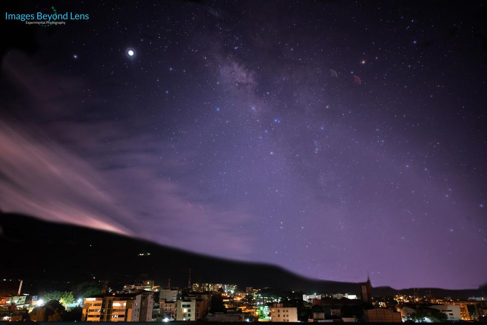 Milky Way from San Cristobal
