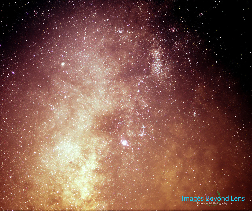 Somewhere in Heart of Milky Way