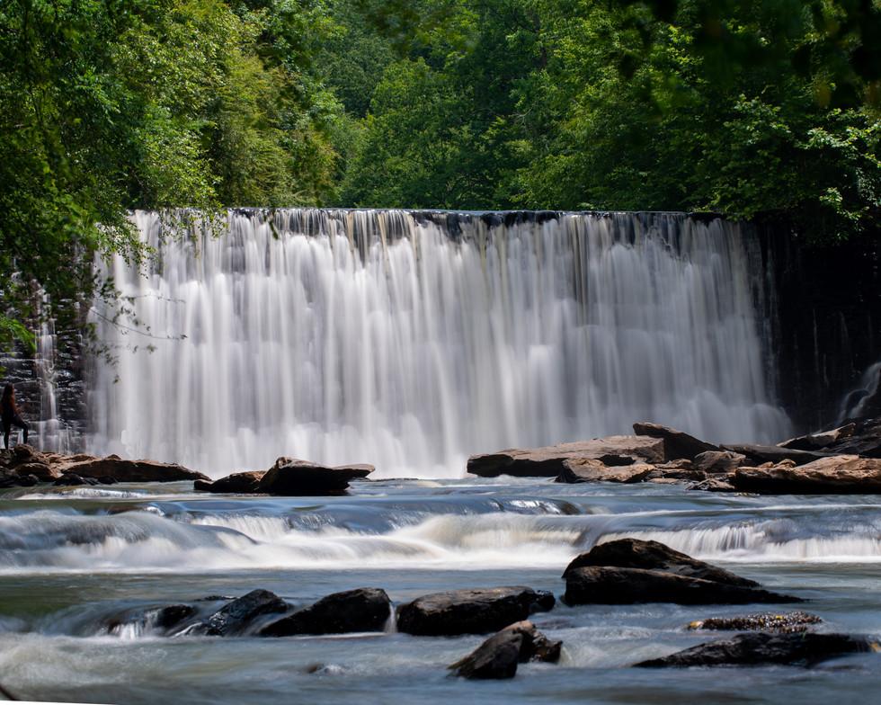 Waterfall at Chattahoochee River