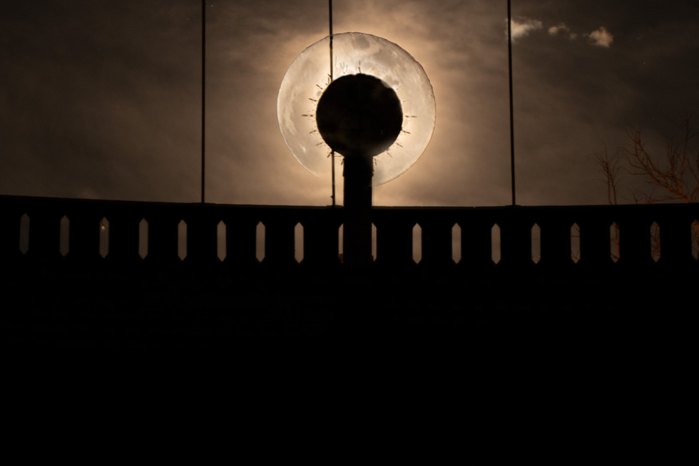 The Clock and TheMoon