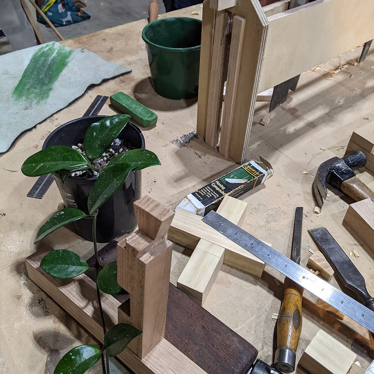 Woodworking Hand-tools: The make your own project course!