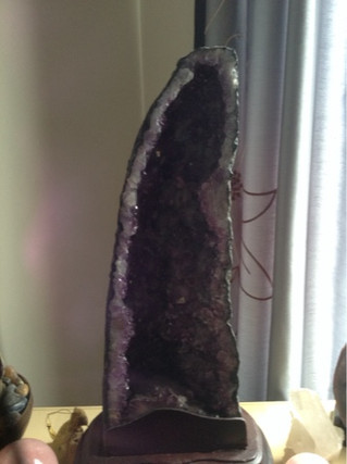 Amethyst Crystal for Clairvoyant Psychic Power