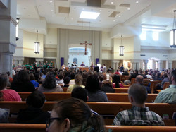 Holy Mass with Bishop Bransfield