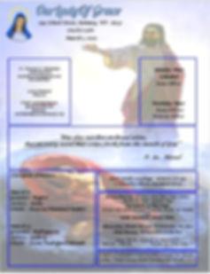 Bulletin March 1st 2020 1.JPG