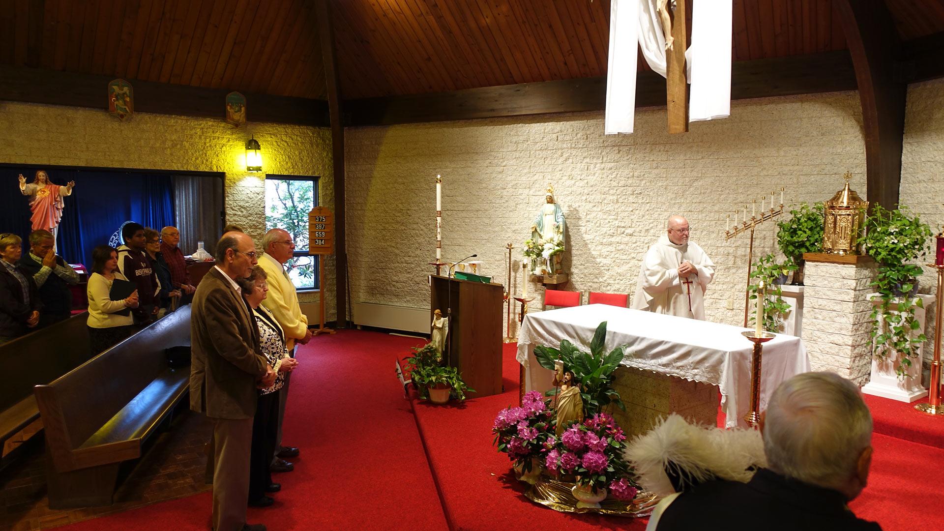 Fr. Bill Matheny Inst Mass KofC