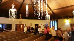 Venerating Relic under the prayers