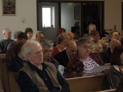 Congregation During Mass