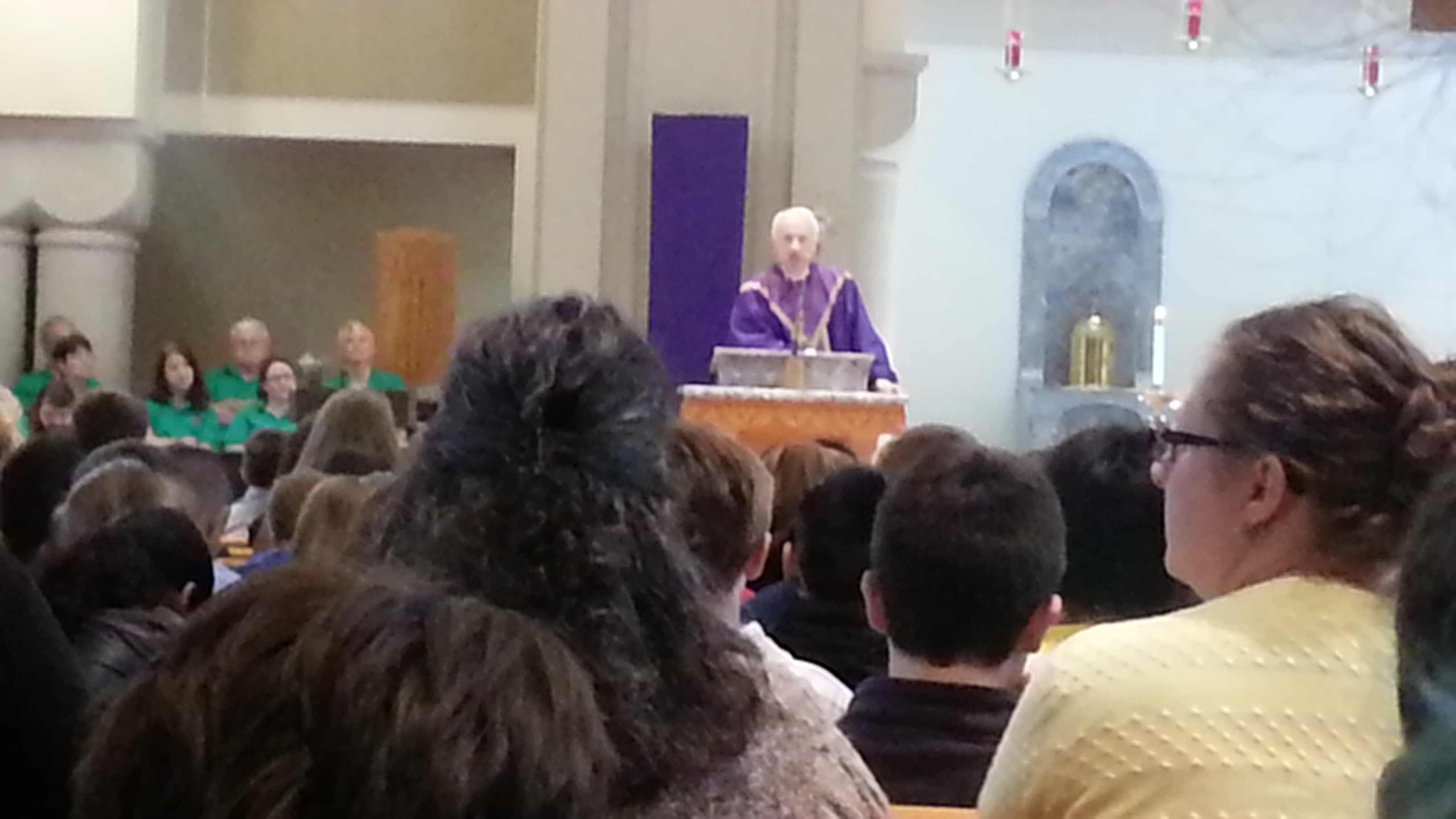 Bishop Bransfield's homily