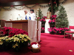 Christmas Eve Consecration Blood