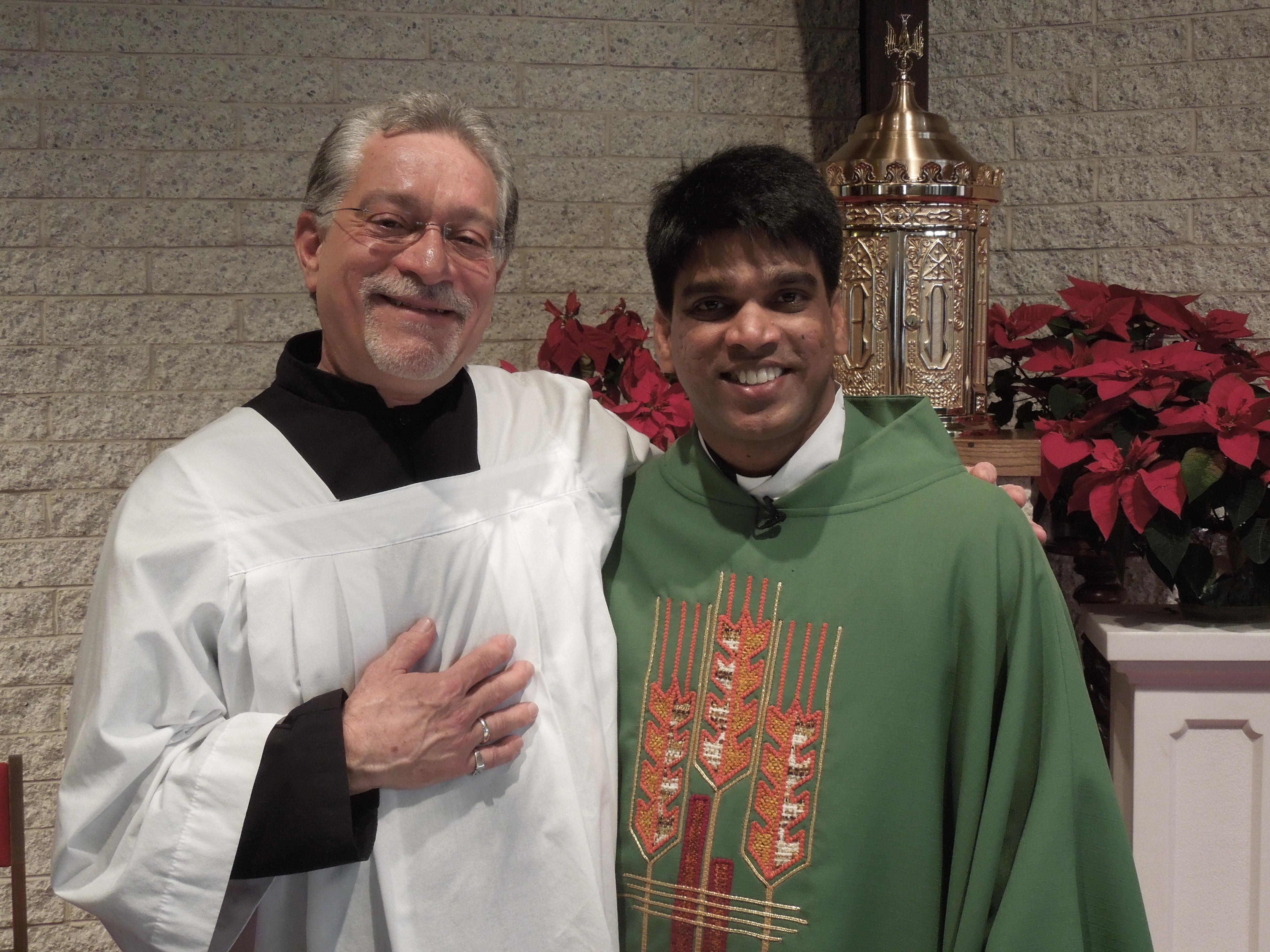 Randy and Fr Joseph