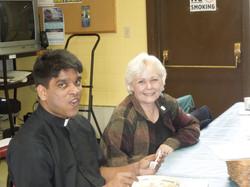 Parishioner and Fr Joseph