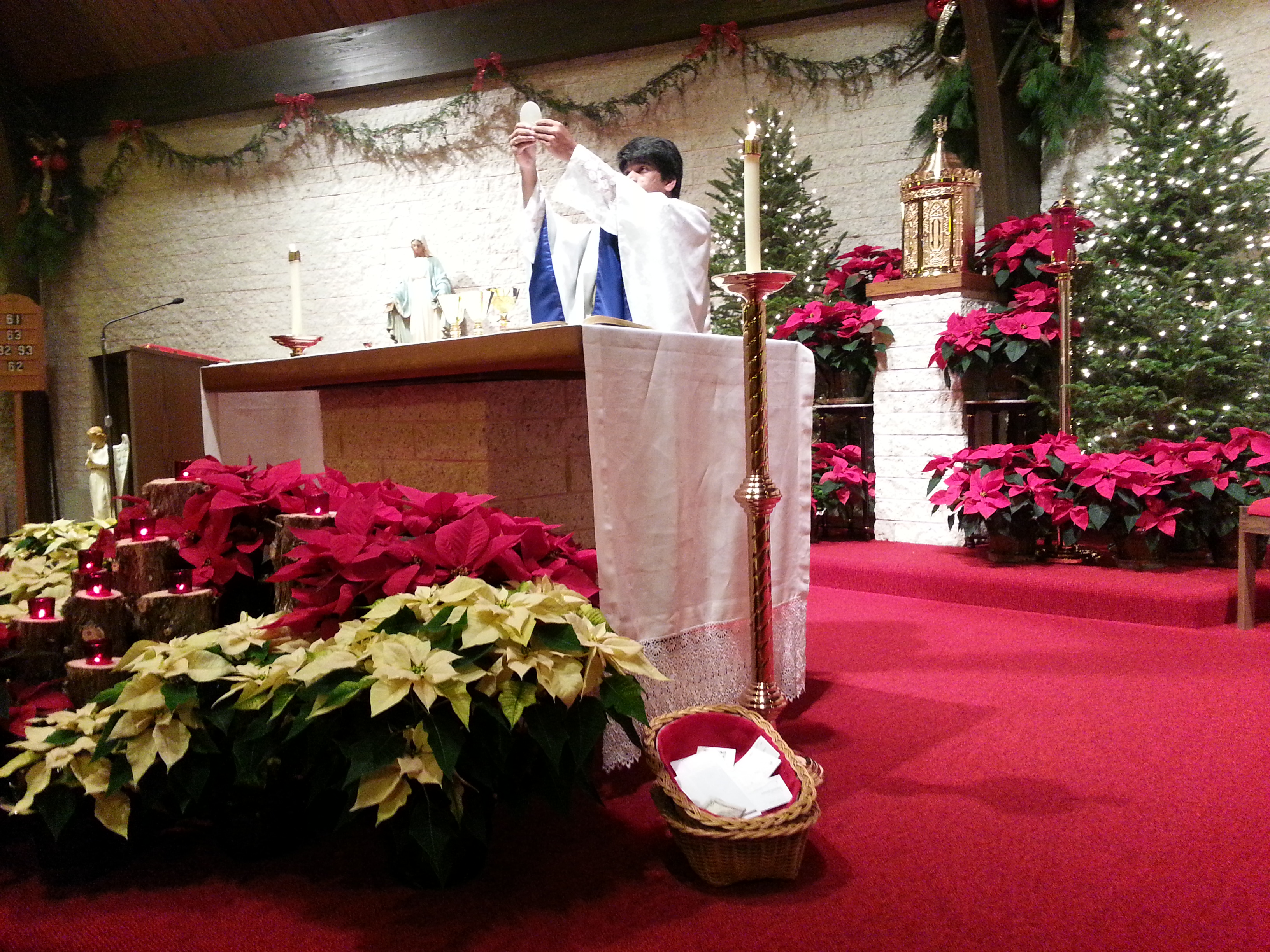 Christmas Eve Consecration  the Body