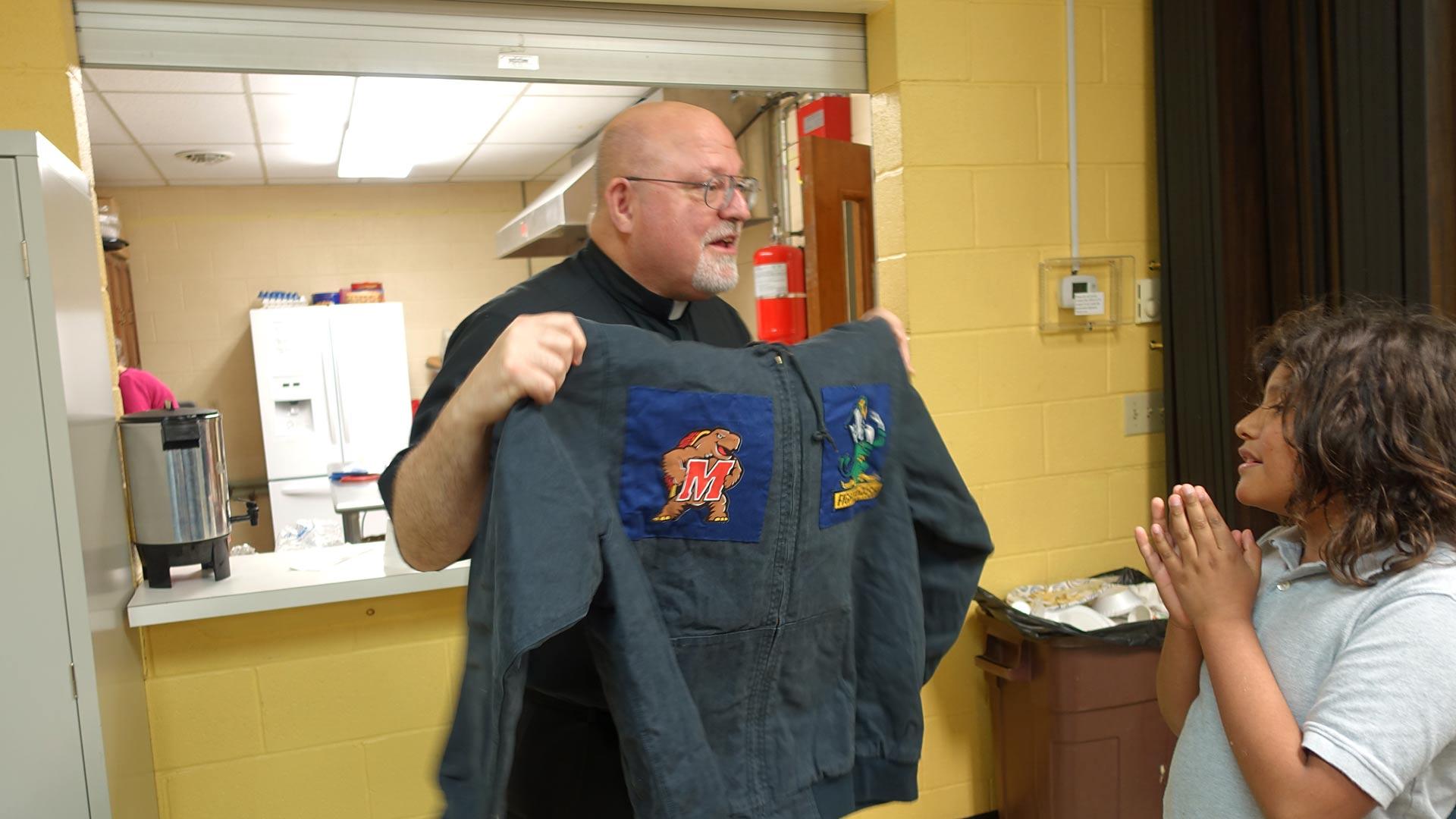 Fr. Bill Matheny Installation gift