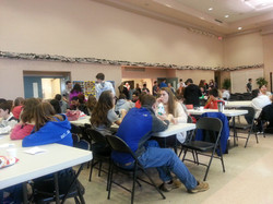 Lunch time Praise the Lord!