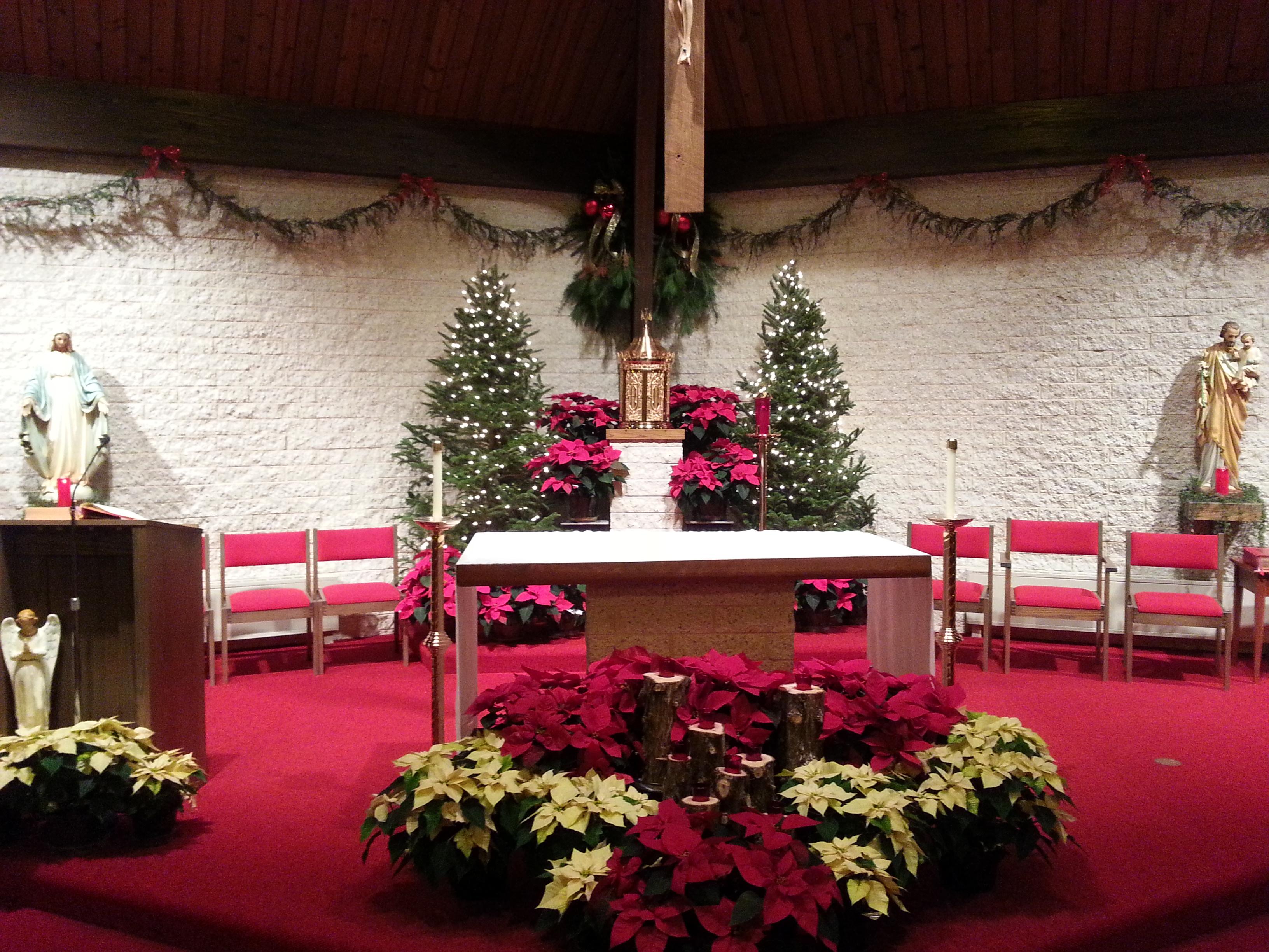 Christmas Eve Altar