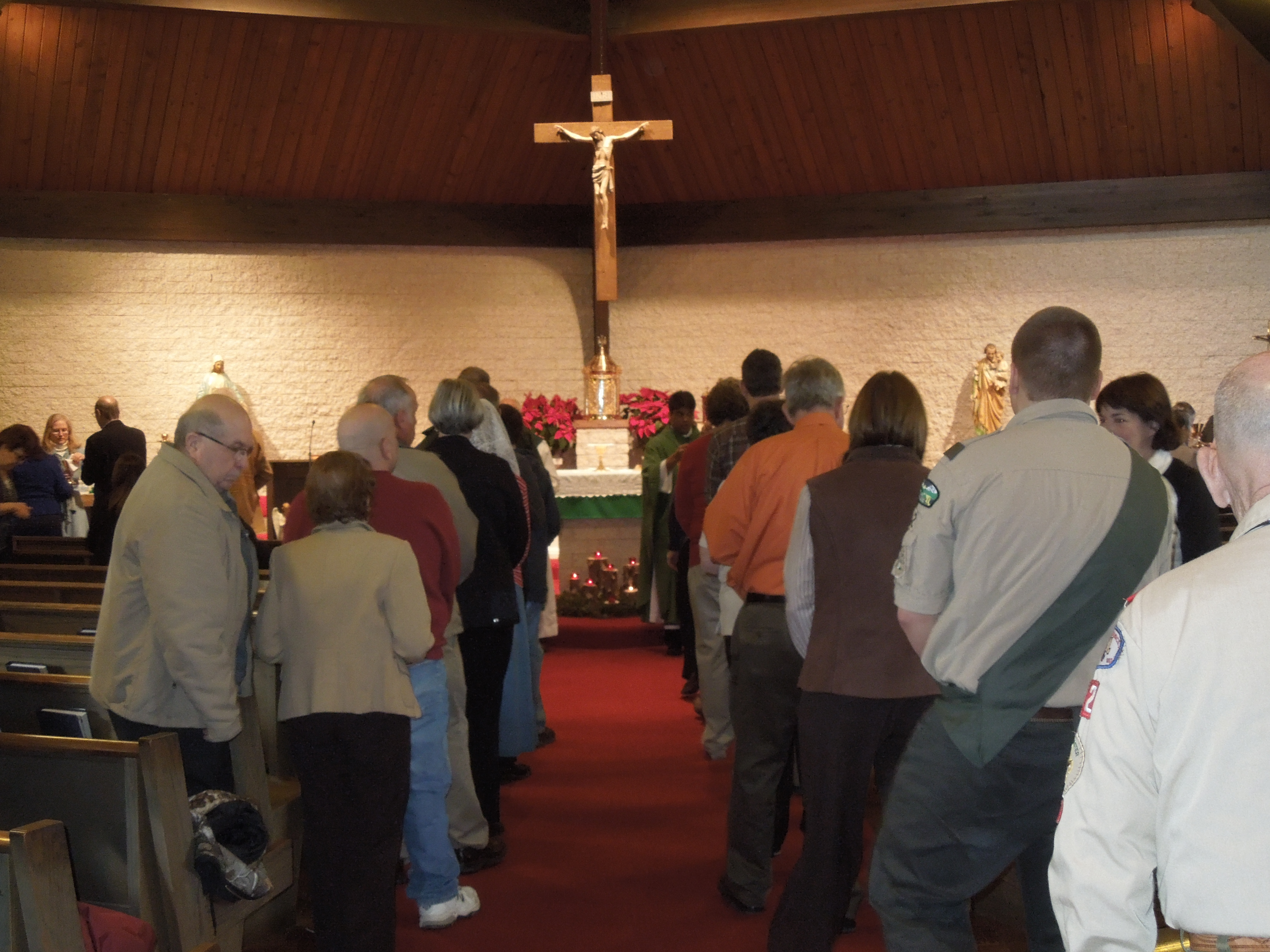 Congregation at the Eucharist