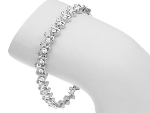 Swarovski Elements Tennis Bracelets