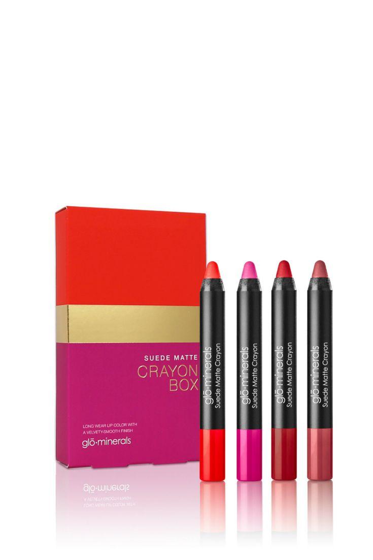 Glo-Minerals Matte Lip Crayons