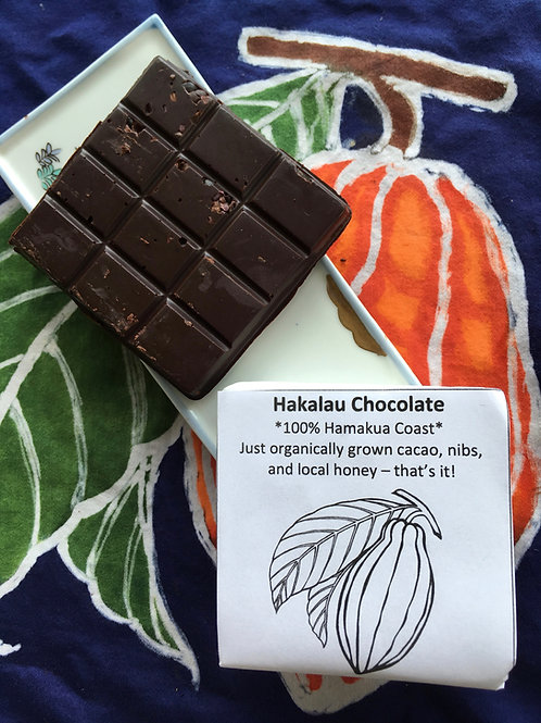 Hakalau Chocolate - nibs, regular
