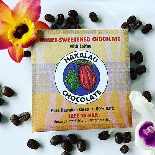 Hakalau Chocolate with Coffee - 6 bar bundle
