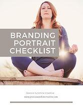 BRANDING PORTRAIT CHECKLIST by Jessica S