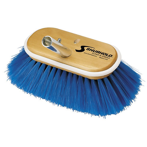 Shurhold Blue Deck Brush Extra Soft 6""