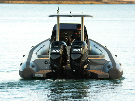 JP RIBS Project K 10m superyacht tender