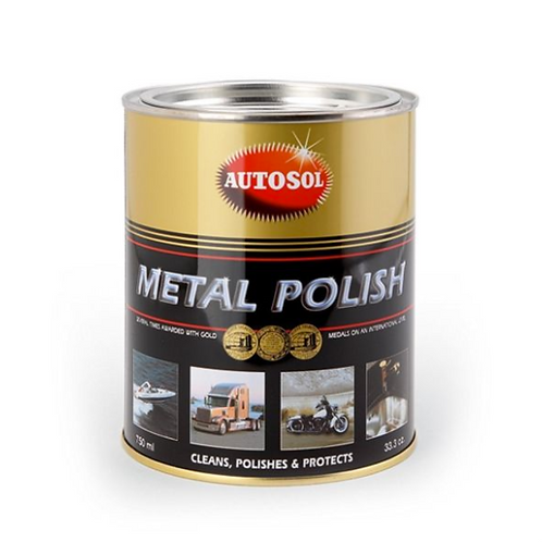 Autosol Metal Polish 750ml/1kg tin