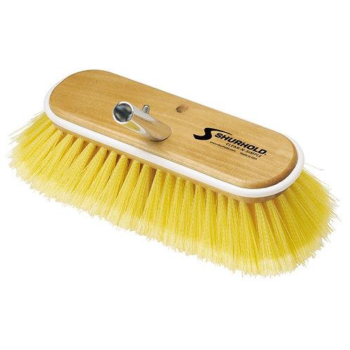 "Shurhold Yellow Deck Brush Medium 10"""