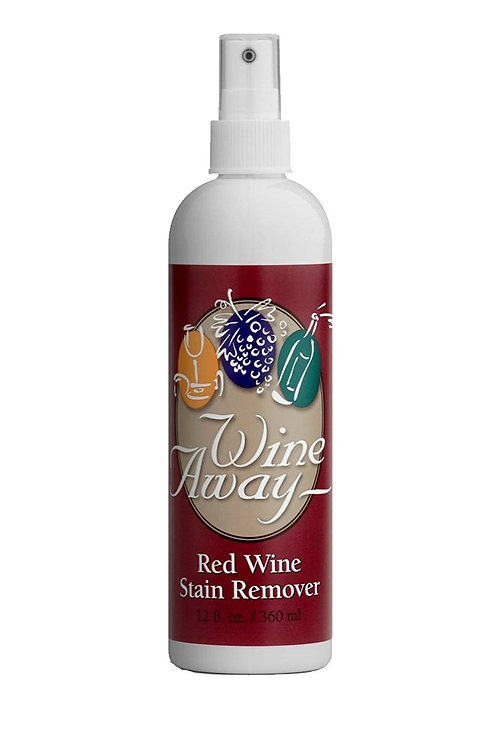 Wine Away - Red Wine Stain Remover 12oz Plastic Bottle