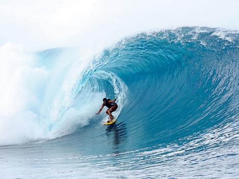 Shore leave: Teahupo'o